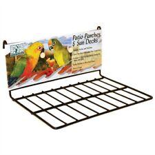 """Flat Perch Sun Deck Landing Platform Birds Small Animals by PrevuePet Small 8"""""""