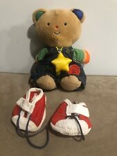 EUC RARE Melissa & Doug K's Kids - Teddy Wear Stuffed Bear Educational Toy Plush