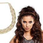 "Milano Collection Premium Braided Head Hairband 1/2"" Thick Headband - Blond"