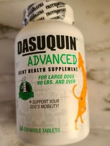 Dasuquin ADVANCED for Large Dogs Over 60lbs 64 chewable tablets ⭐FREE SHIPPING⭐