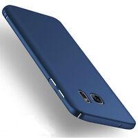 Black Ultra Thin Slim Matte Hard Back Case Cover For Samsung Galaxy S7 Edge New