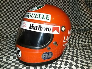Vintage bell star 1976 Niki lauda replica  Helmet  Simpson arai shoei