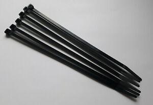 Cable Ties Black Wraps / Zip Ties 4.8 x 203 mm