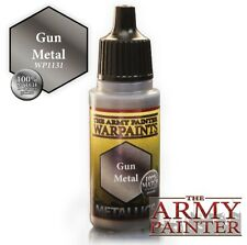"Pinturas Army Painter ""Gun Metal"" 18ml"