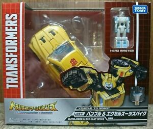 Takara TOMY Transformers Legends LG 54 Bumblebee&Excel Suits Spike Action Figure