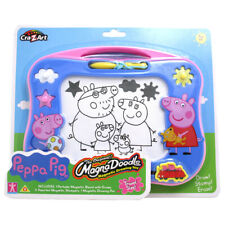 Peppa Pig Magna Doodle Draw Stamp Erase Travel Size Toy Playset Brand New
