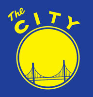 THE CITY shirt Golden State Warriors Steph Curry Kevin Durant Draymond Green GSW