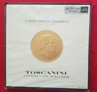 Toscanini Conducts Wagner Vintage 2 LP Set RCA-Victor LM-6020