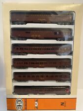Con-Cor N Scale Pennsylvania 6-Car Passenger Set Brand New 0003-570002