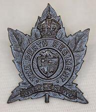 The PERTH REGIMENT Collar Badge M.51. Canada
