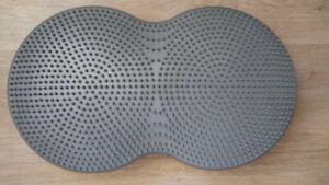 Double balance air board disc gym Body by jake stability cushion meditation pad