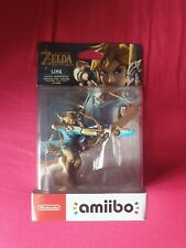 NEUF - Amiibo Link Archer Nintendo première édition ZELDA Breath Of The Wild