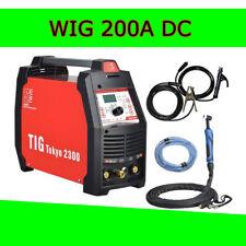 Siwm TIG Tokyo 2300 Wig pulsazioni SALDATRICE DC 200a ACCIAIO INOX