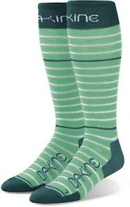 New Dakine Thinline Snowboard Socks Women's S/M Beach Glass Green