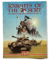 Knights Of The Desert The North African Campaign Atari 400/800 TRS-80 Cassette