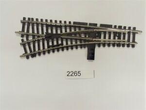 Märklin 2265 K Track Manual Points Left r424, 6 MM # New #1 Pieces #