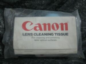 Canon Lens Cleaning Tissue