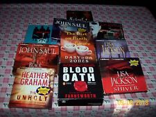 HORROR LOT, DVD MOVIES AND CD AUDIOBOOKs , +  SEE MY OTHER ITEMS