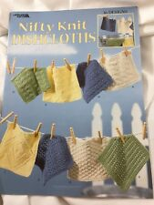 Nifty Knit Dishcloths - 16 Designs From Leisure Arts, Pamphlet 3122