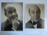 Foto Originale Louis Bouchené Dit Baron Figlio Grands Ritratti Attore Comico