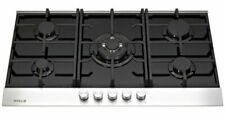 Millar GH9051TDB 90cm 5 Burner Gas Glass Hob - Black