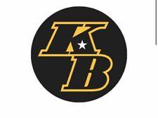 "KB Kobe Bryant Decal Sticker for Car, Laptop, Window, Bumper Sticker 3.5 """