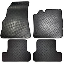 Renault Megane MK3 2008 to 2016 Tailored 4 Piece Rubber Car Mat Set 2 Clips