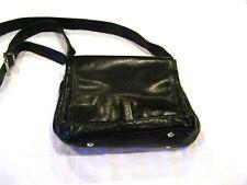 Perlina black leather purse/handbag/crossbody