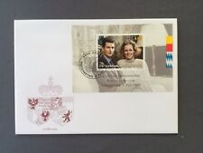 LIECHTENSTEIN FDC 7.6 1993 VADUZ Royal Wedding Alois and Sophie Vermählung