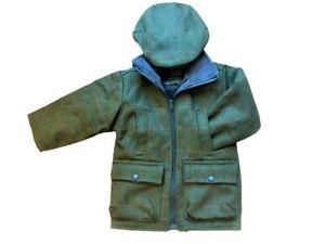 BOYS / GIRLS/ BABY/ CHILD / TWEED JACKET /COAT / SHOOTING JACKET/SHIRE CLASSICS