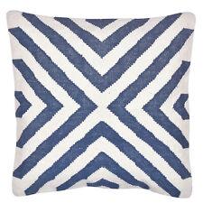 Blue Handwoven Kilim Cotton Cushion Cover Sofa Pillow Cover 18x18