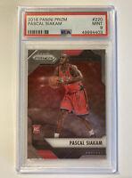 Pascal Siakam RC 2016-17 Panini Prizm #220 Toronto Raptors Rookie Card PSA 9