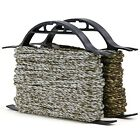 """Camouflage Braided Rope with Winder Organizer Spool 3/16"""" x 50' (Pack of 2)"""