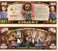 Chucky - The Lakeshore Strangler -  Million Dollar Novelty Money