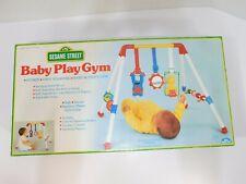 Vintage 1990 Sesame Street Baby Play Gym Complete in Original Box