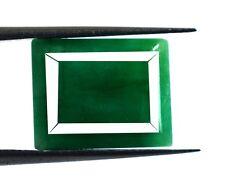 Loose Gemstone 10 Ct+ Natural Emerald Cut Brazilian Green Emerald Birthstone