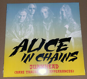 ALICE IN CHAINS! JUNKHEAD! RARE TRACKS & APPEARANCES LTD EDITION IMPORT VINYL LP
