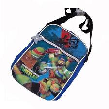 TARTARUGHE NINJA petit sac à bandoulière réglable bleu imprimé holographique 2