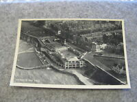 Real photo Kent postcard -- Ariel view of Lido - Margate Thanet