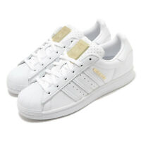 adidas Originals Superstar W White Gold Women Classic Casual Shoe Sneaker FW3713
