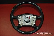 Porsche 911 993 Carrera 4-Spoke Steering Wheel Black Leather 993.347.804.54 OEM
