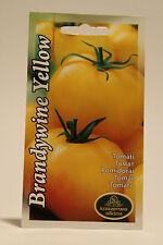 Heirloom Tomato - Yellow Brandywine Solanum lycopersicum L. seeds, Семена Томата