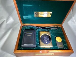CANON GOLD LIMITED EDITION ELPH CAMERA