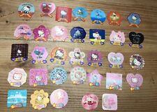 33 Vintage Sanrio Hello Kitty 30th Anniversary 7-11 Collectors Magnets Rare!