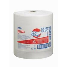 More details for wypall 8377 wypall x80 cloths large roll white (1 roll)