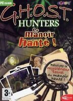 GHOST HUNTERS LE MANOIR HANTE PC CDROM [video game]