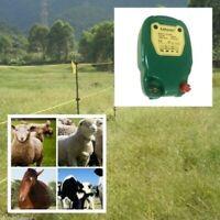 Electric Fence Solar Power Energy Controller Animal Farm & Livestock Sheep Horse