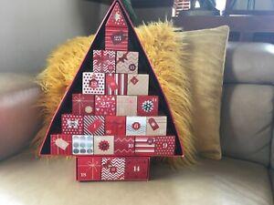 M&S Marks and Spencer Beauty Advent Calendar Xmas tree