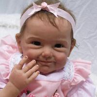 55cm Reborn Baby Mädchen Realistische Lebensechte Kleinkind Puppe Girl Dolls