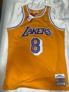Authentic Kobe Bryant Hardwood Classics Mitchell & Ness Lakers Jersey 1996-97